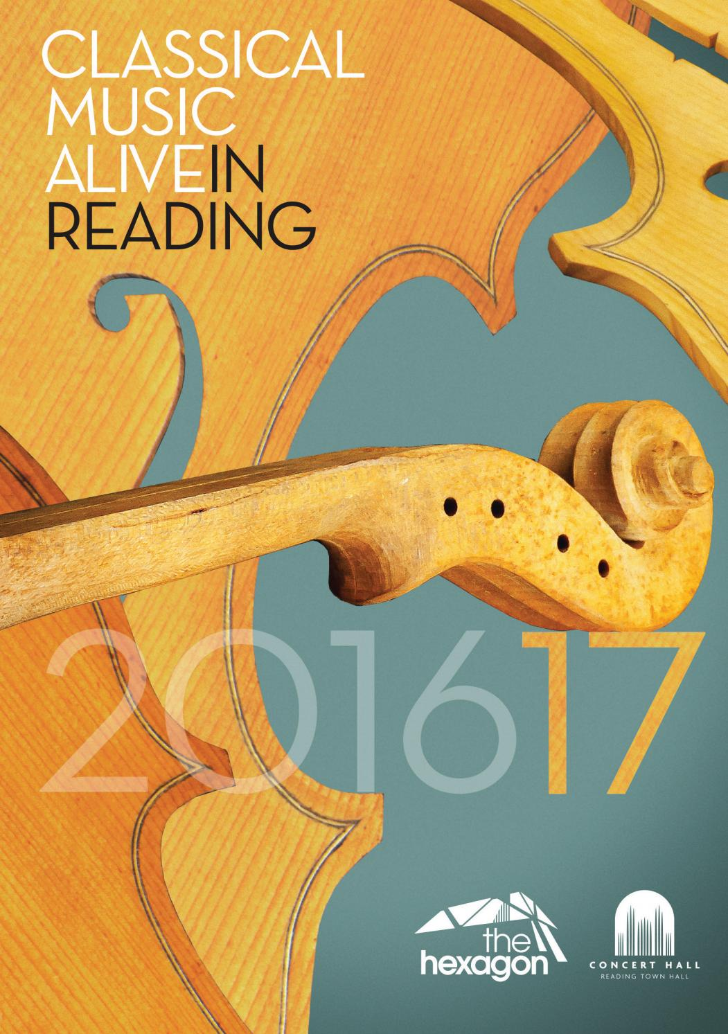 Classical Music Alive in Reading 201617 by Reading Culture  Sport  Issuu