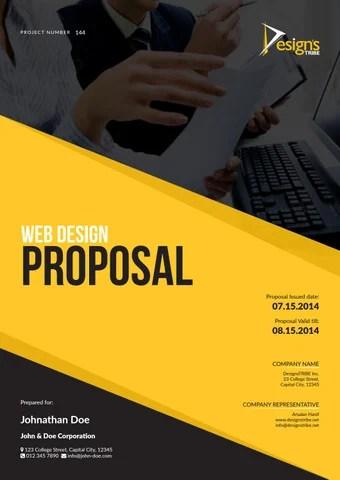 Web Design Proposal by Arsalan Hanif - issuu