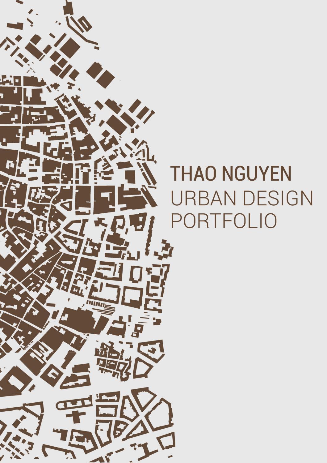 Urban design Portfolio by Vi Tho Nguyn Th  Issuu