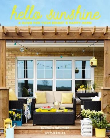 leon s mackenzie sofa loveseat sets sale hello sunshine by furniture issuu page 1