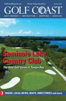 Golf Coast Magazine - Tampa Summer 2016