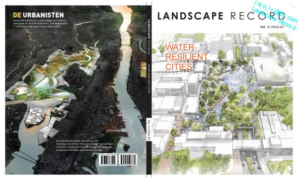 Landscape Record-water Resilient Cities