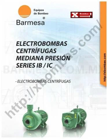 Bombas Sumergibles Barnes Catalogo