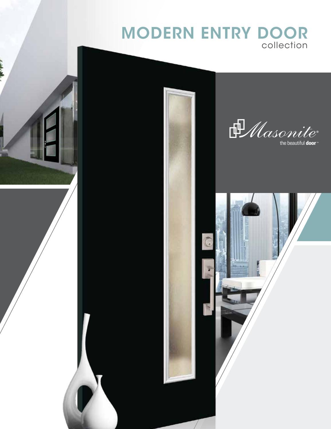 Masonite Modern Door Brochure by clearymillwork