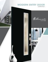 Masonite Modern Door Brochure by clearymillwork
