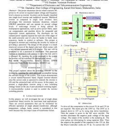 digitally controlled single phase transformer based inverter for nonlinear load application [ 1059 x 1497 Pixel ]