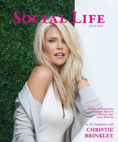 Social Life  July 2016  Christie Brinkley by Social Life