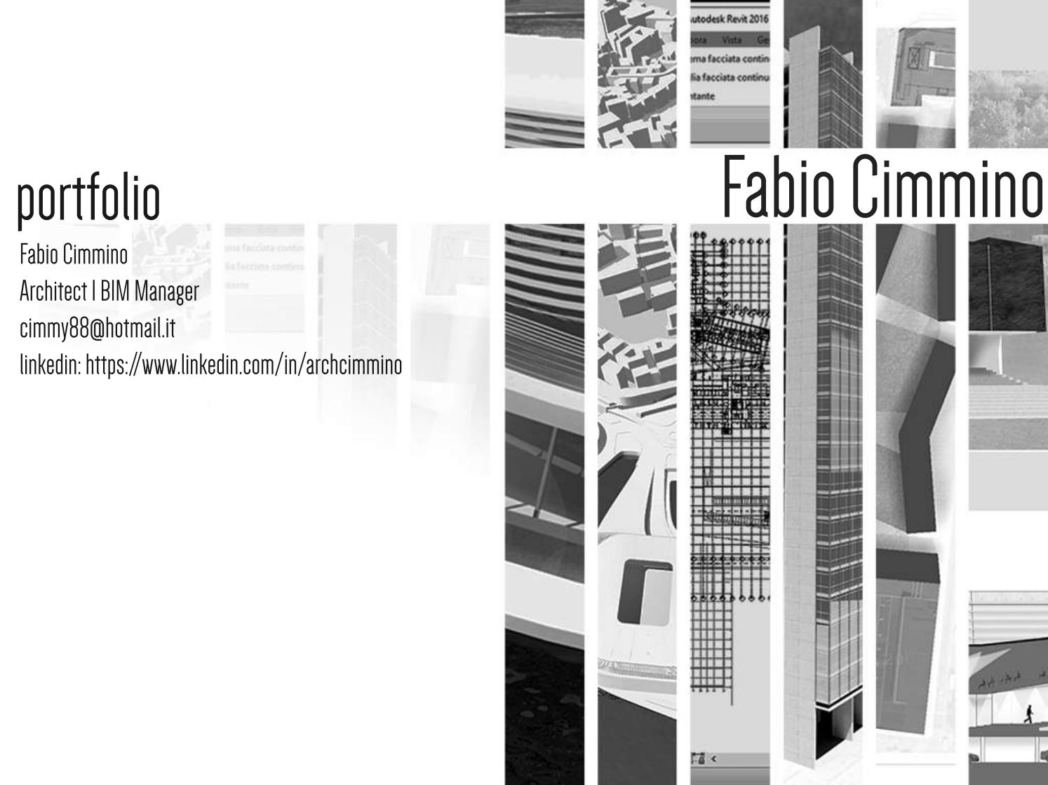 Portfolio Architect  BIM Manager by Fabio Cimmino  Issuu