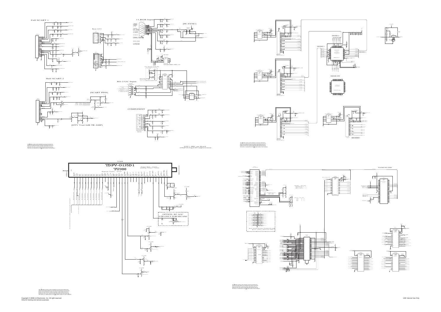 Manual de serviço tv lcd lg 37lg7000 za chassis ld88f by