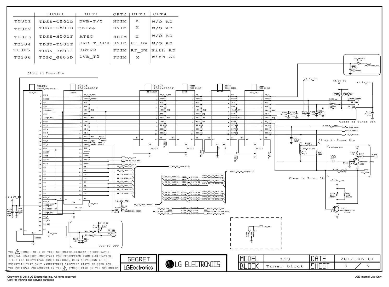 Manual de serviço tv lg 42pn4500 sa chassis pb31a by