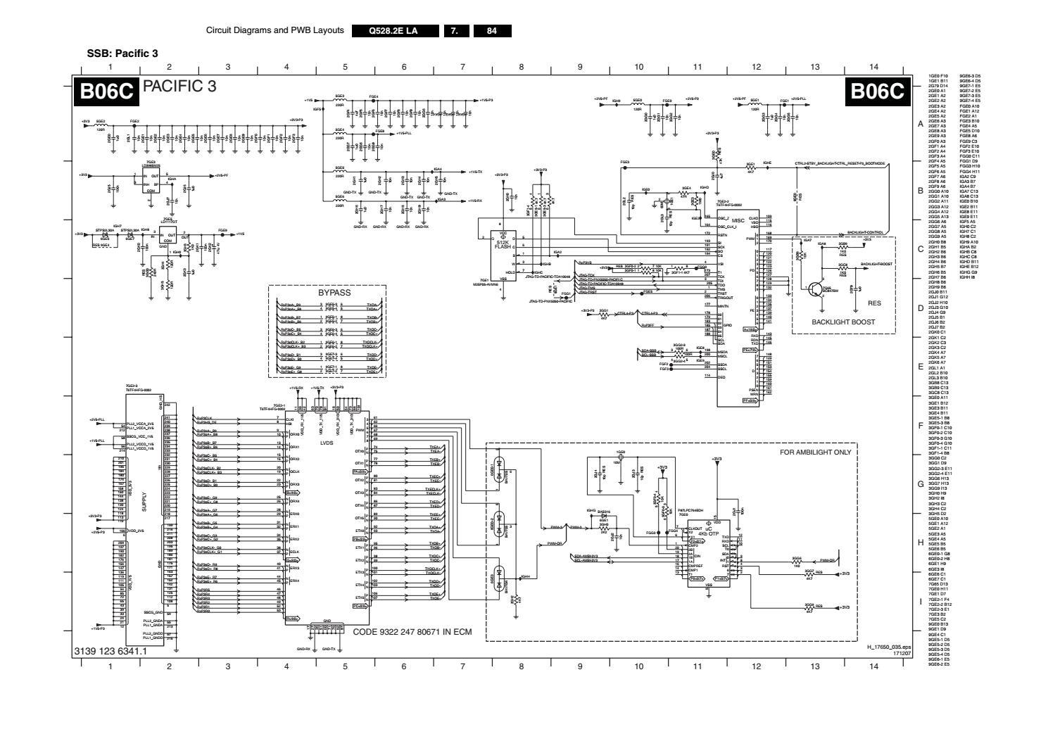 Manual de serviço tv philips 42pfl7603d 12 chassis q528 2e