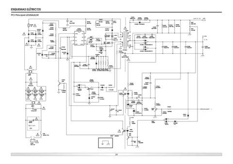 Manual de serviço televisores led semp toshiba le3256aw