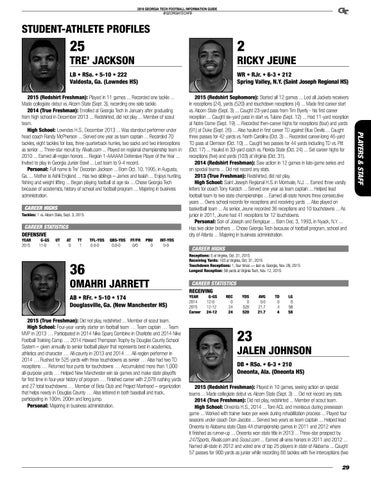 2016 Georgia Tech Football Information Guide by