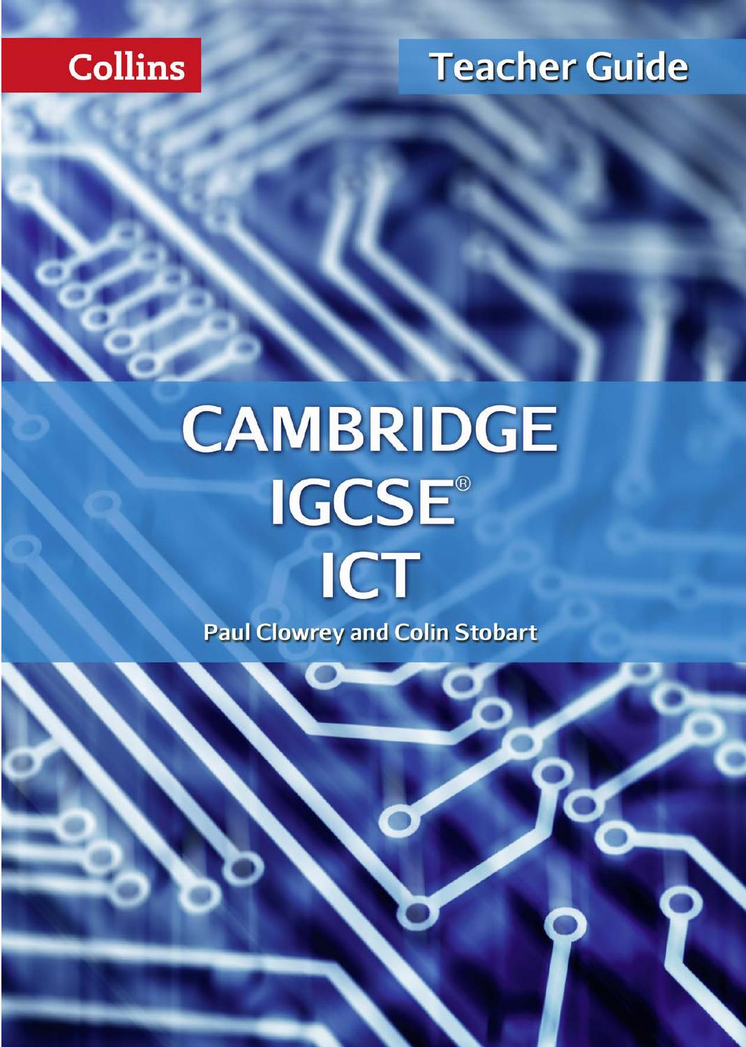 hight resolution of Cambridge IGCSE ICT Teacher Guide by Collins - issuu
