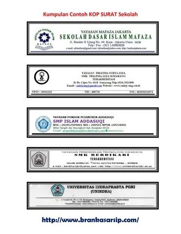 Contoh Kop Surat Yayasan : contoh, surat, yayasan, Kumpulan, Contoh, Surat, Sekolah-BrankasArsip.Com, Abdullah, Luthfi, Issuu