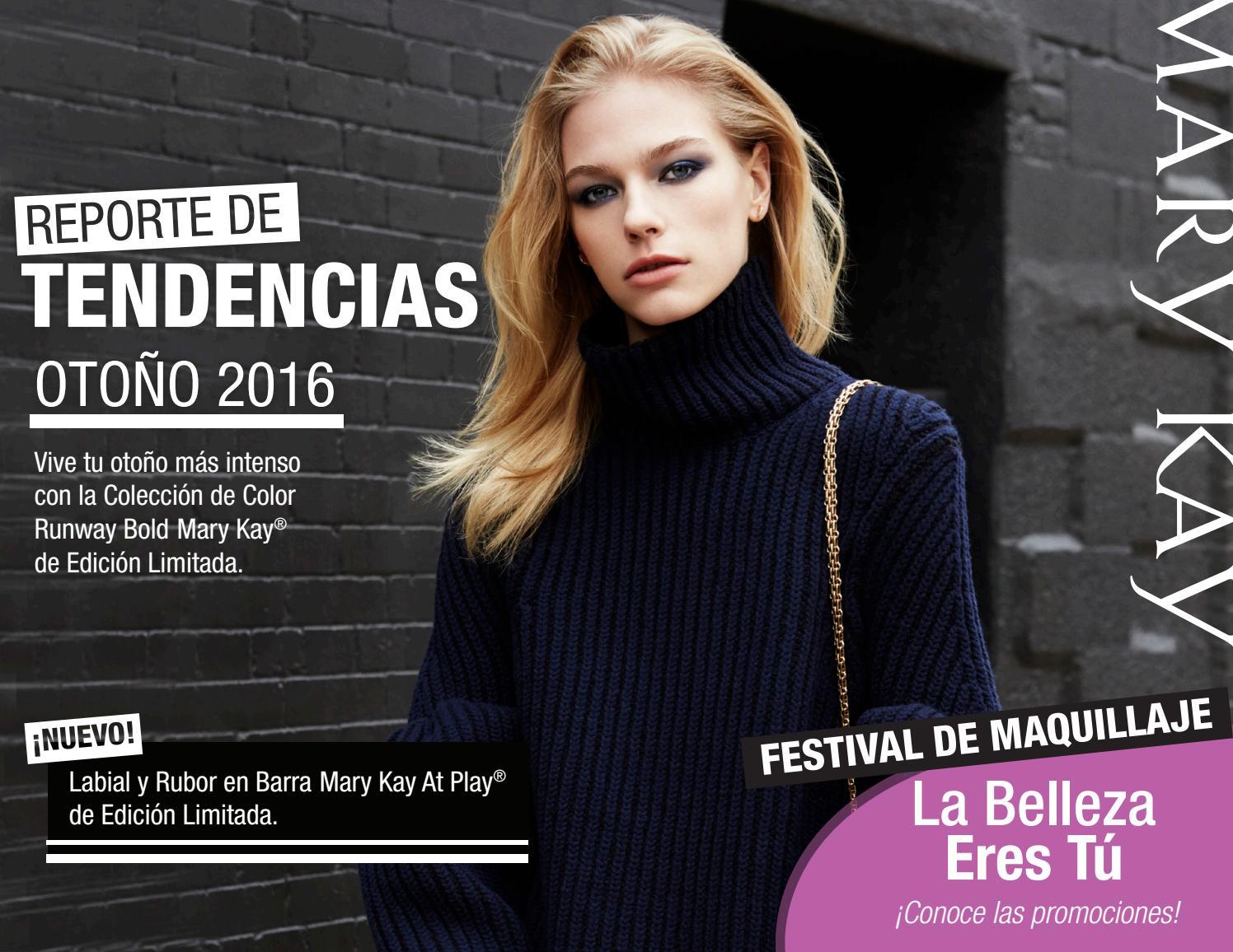 Reporte Mary Kay de Tendencias Septiembre Octubre 2016 by Mary Kay de México - Issuu