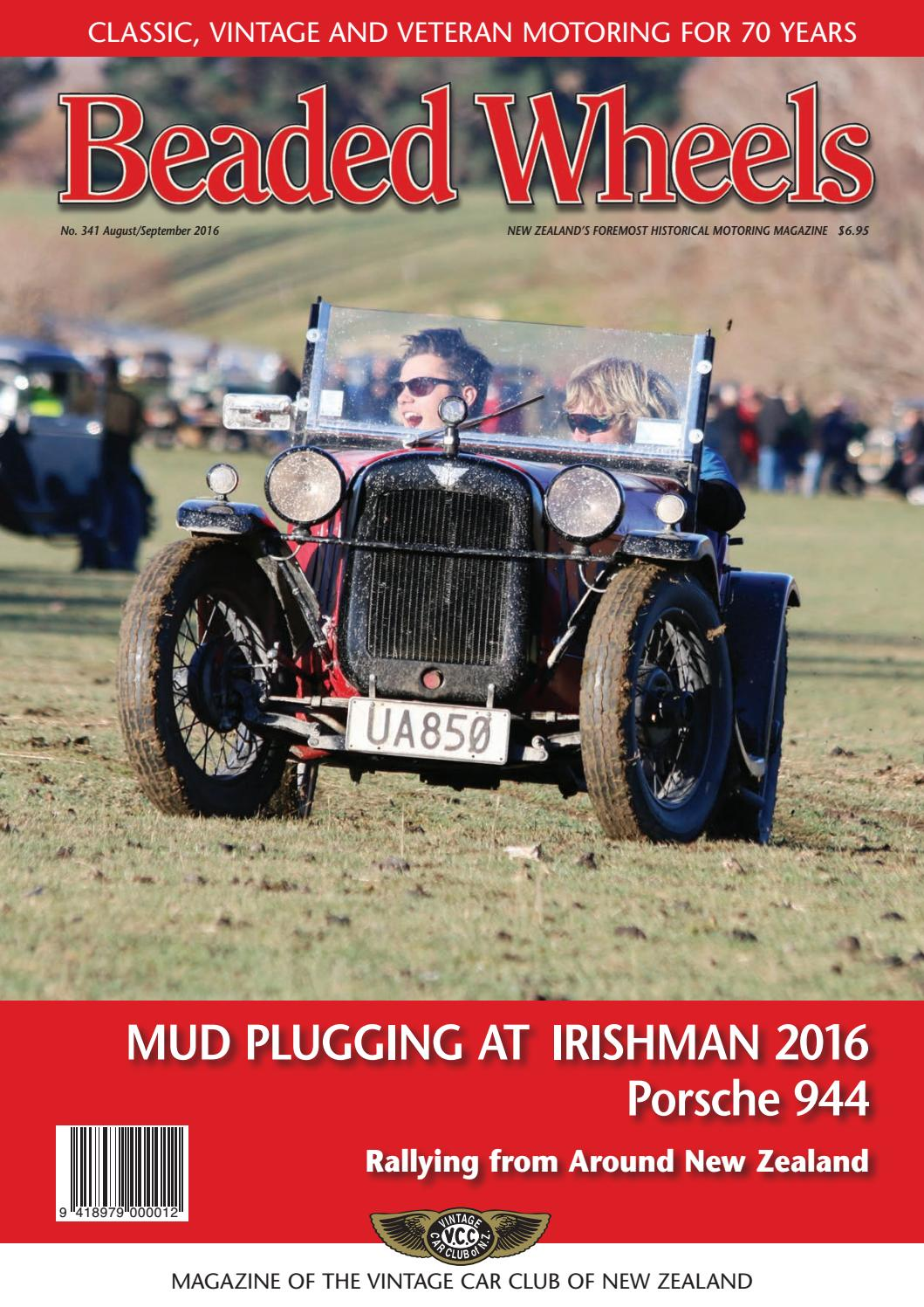hight resolution of beaded wheels august september 2016 by vintage car club of new zealand issuu