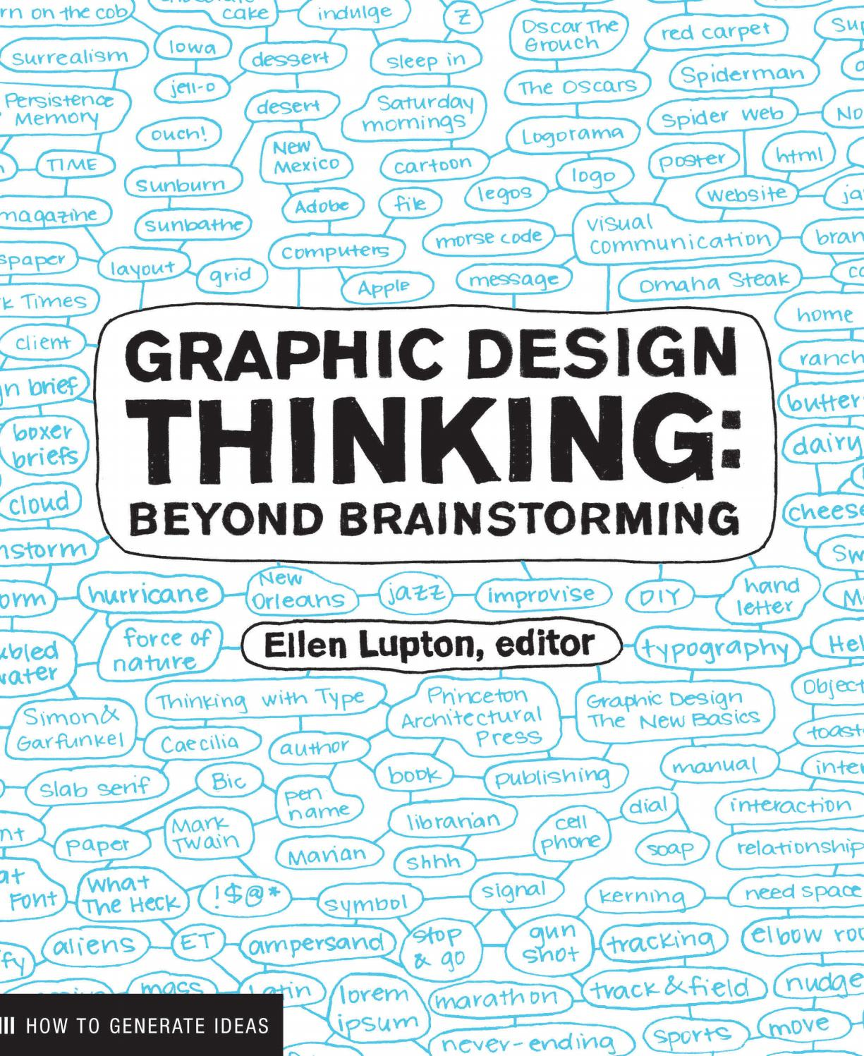graphic design thinking beyond