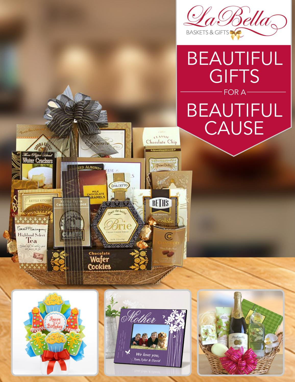 La Bella Baskets Amp Gifts Catalog By La Bella Baskets Issuu