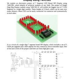 circuit diagram of 7 segment led based spi display using 74hc595 by techieshop issuu [ 1058 x 1497 Pixel ]