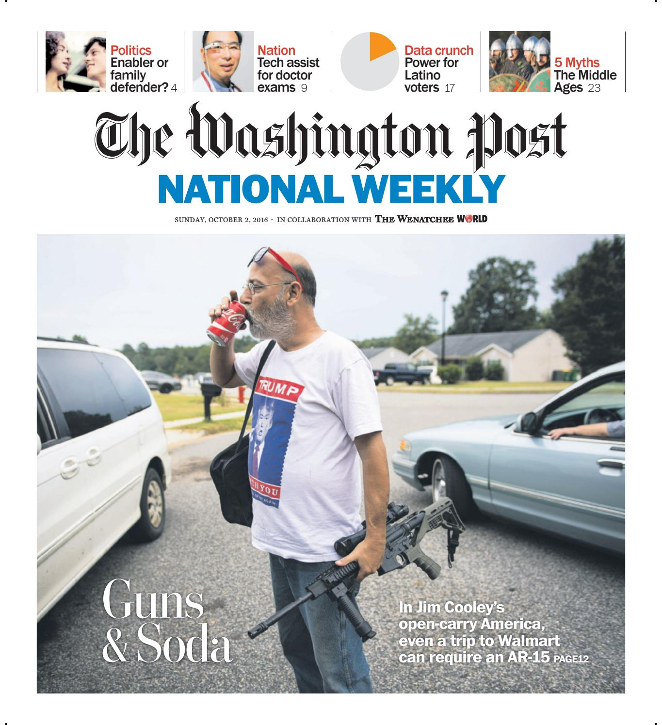 The Washington Post National Weekly October 2 2016 By The