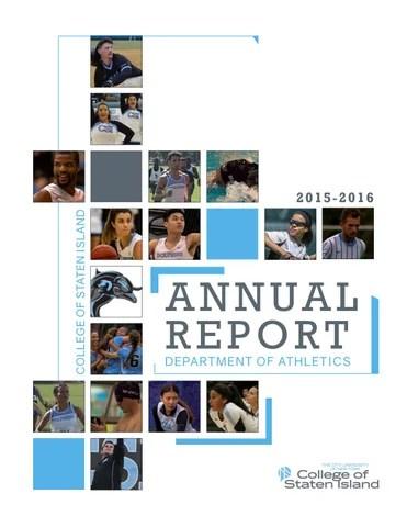 College of Staten Island Athletics Annual Report 201516 by CSIAthletics  Issuu