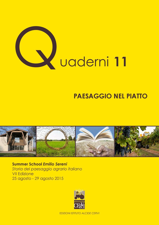 Quaderni 11 by Biblioteca Archivio Emilio Sereni  Issuu
