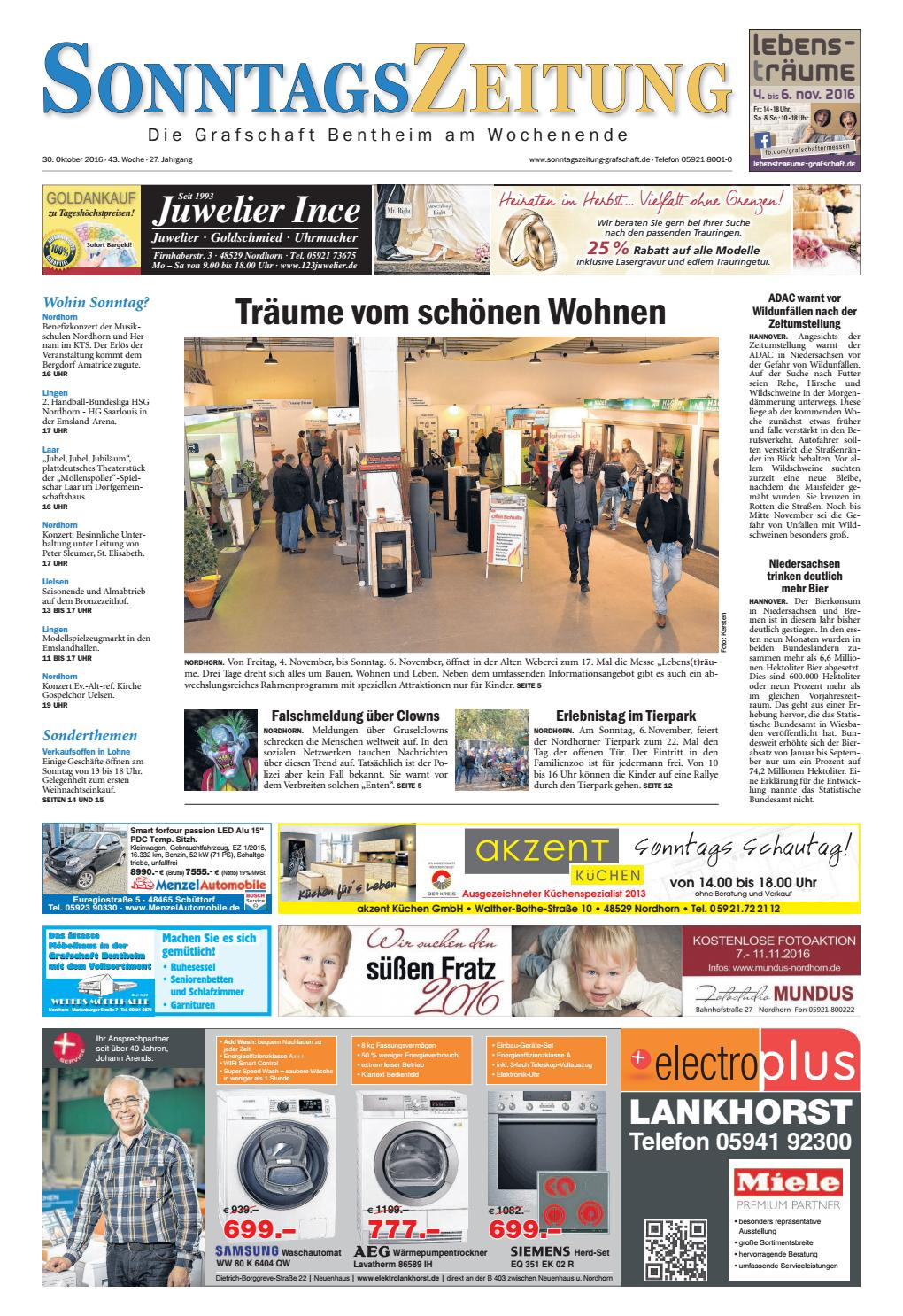 sonntagszeitung 30 10 2016 by
