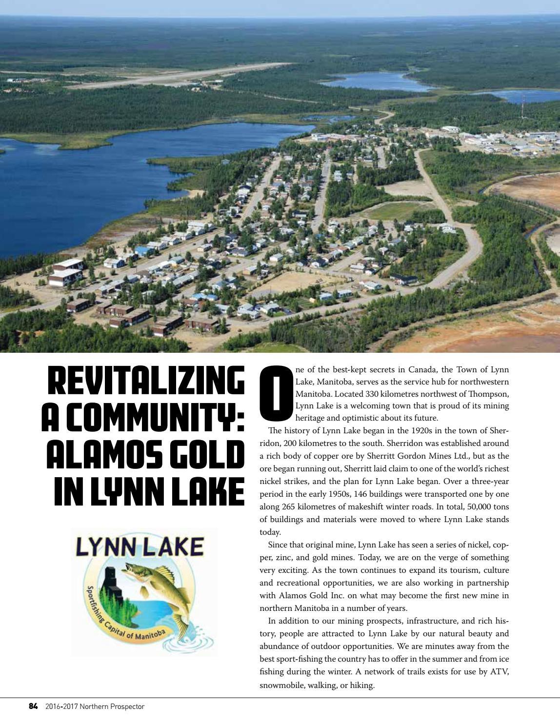 Lynn Lake Manitoba : manitoba, Northern, Prospector, 2016-17, Communications, Issuu