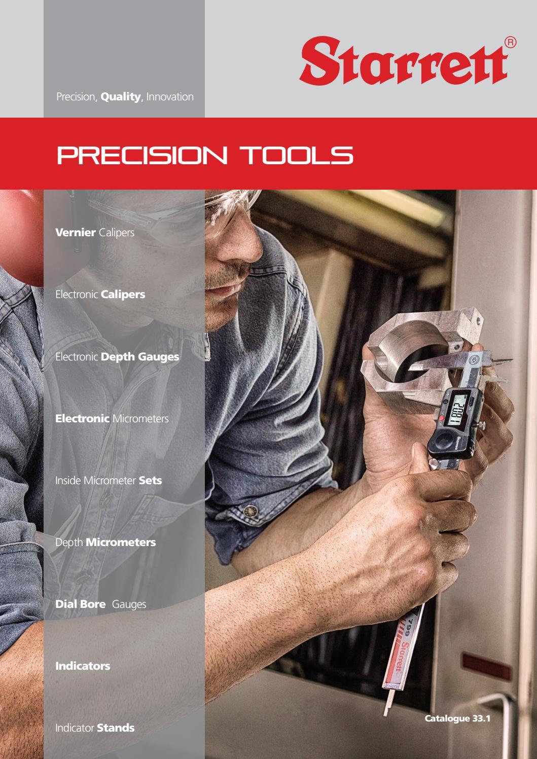 hight resolution of starrett uk precision tools catalogue 33 1 by the l s starrett company ltd issuu