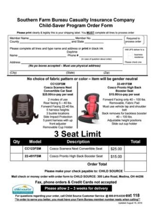 Alfa Insurance Car Seat Program