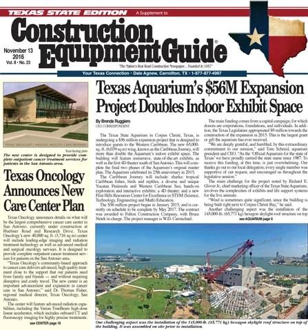 Texas 23 November 12 2016 By Construction Equipment