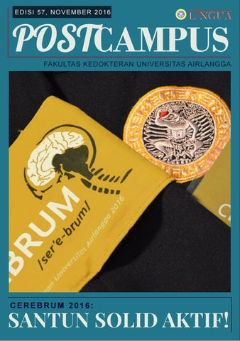 Logo Unair Terbaru : unair, terbaru, Postcampus, November, Lingua, Unair, Issuu