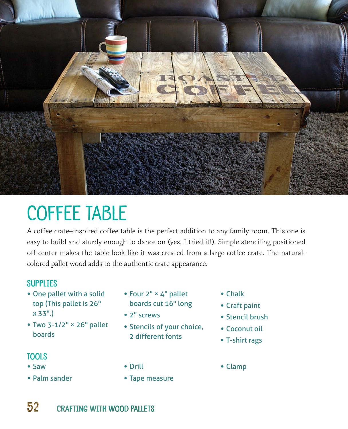crafting with wood pallets projects for