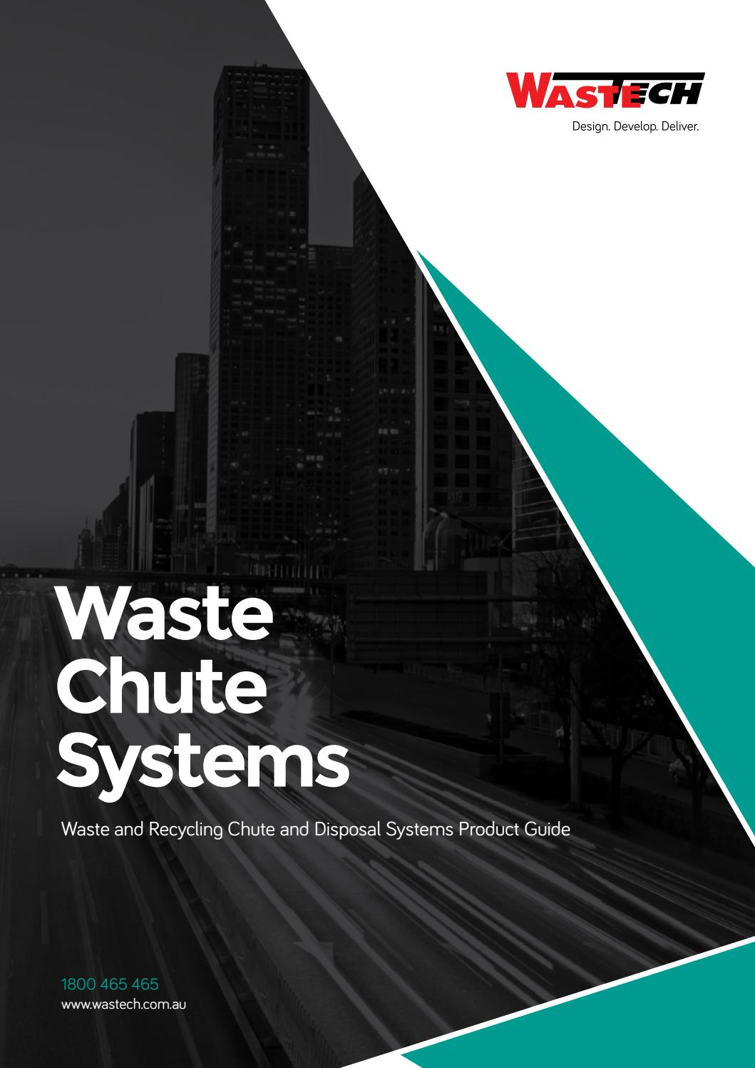 Wastech Waste Chutes Systems Brochure By Wastech