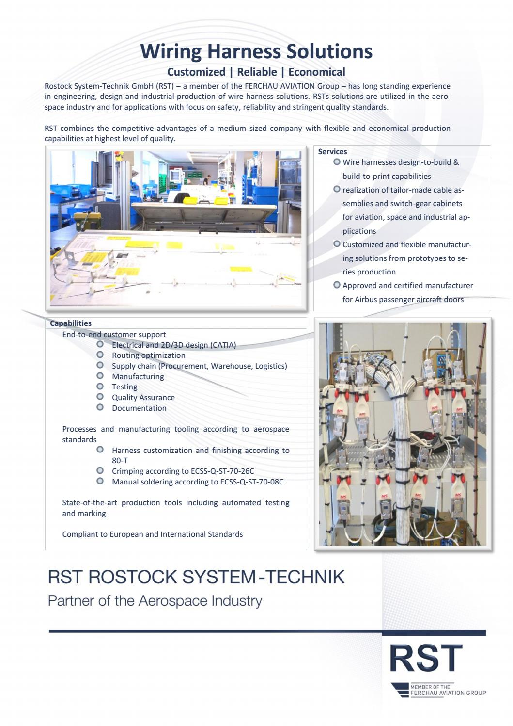 hight resolution of wiring harness solutions data sheet