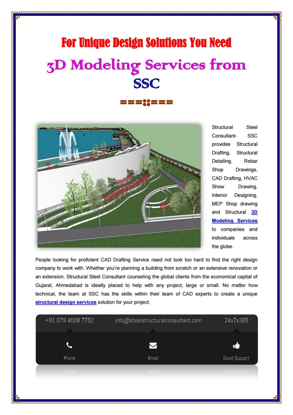 medium resolution of structural 3d modeling services company