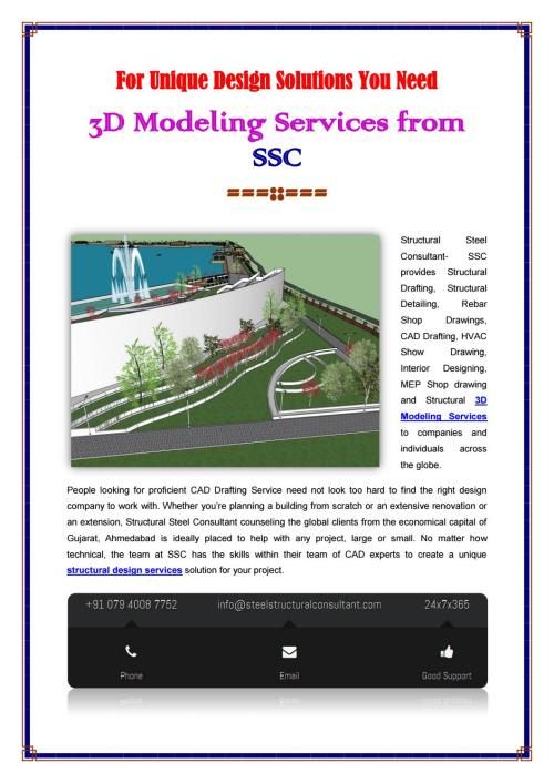 small resolution of structural 3d modeling services company