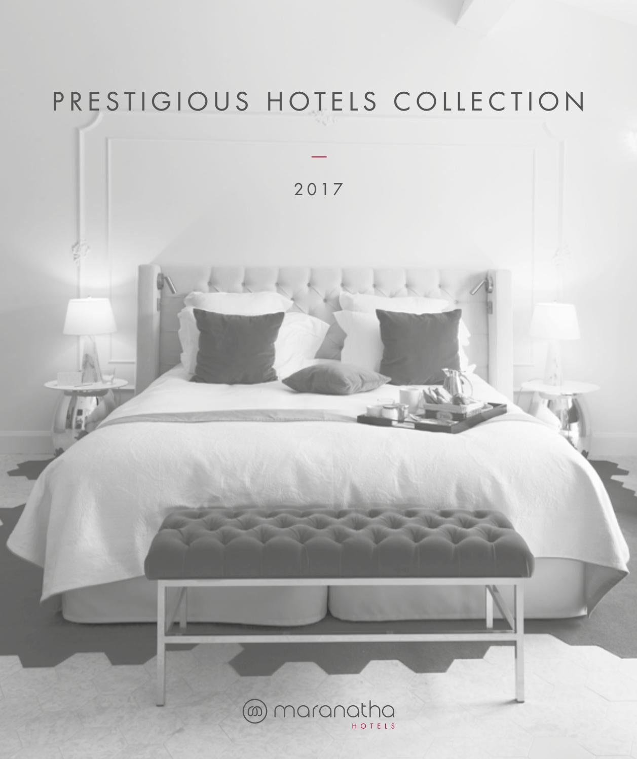Prestigious Hotels Collection 2017 By Groupe Maranatha Issuu