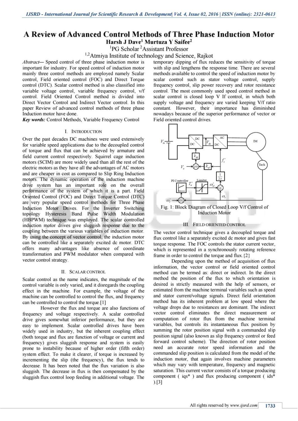 medium resolution of a review of advanced control methods of three phase induction motor