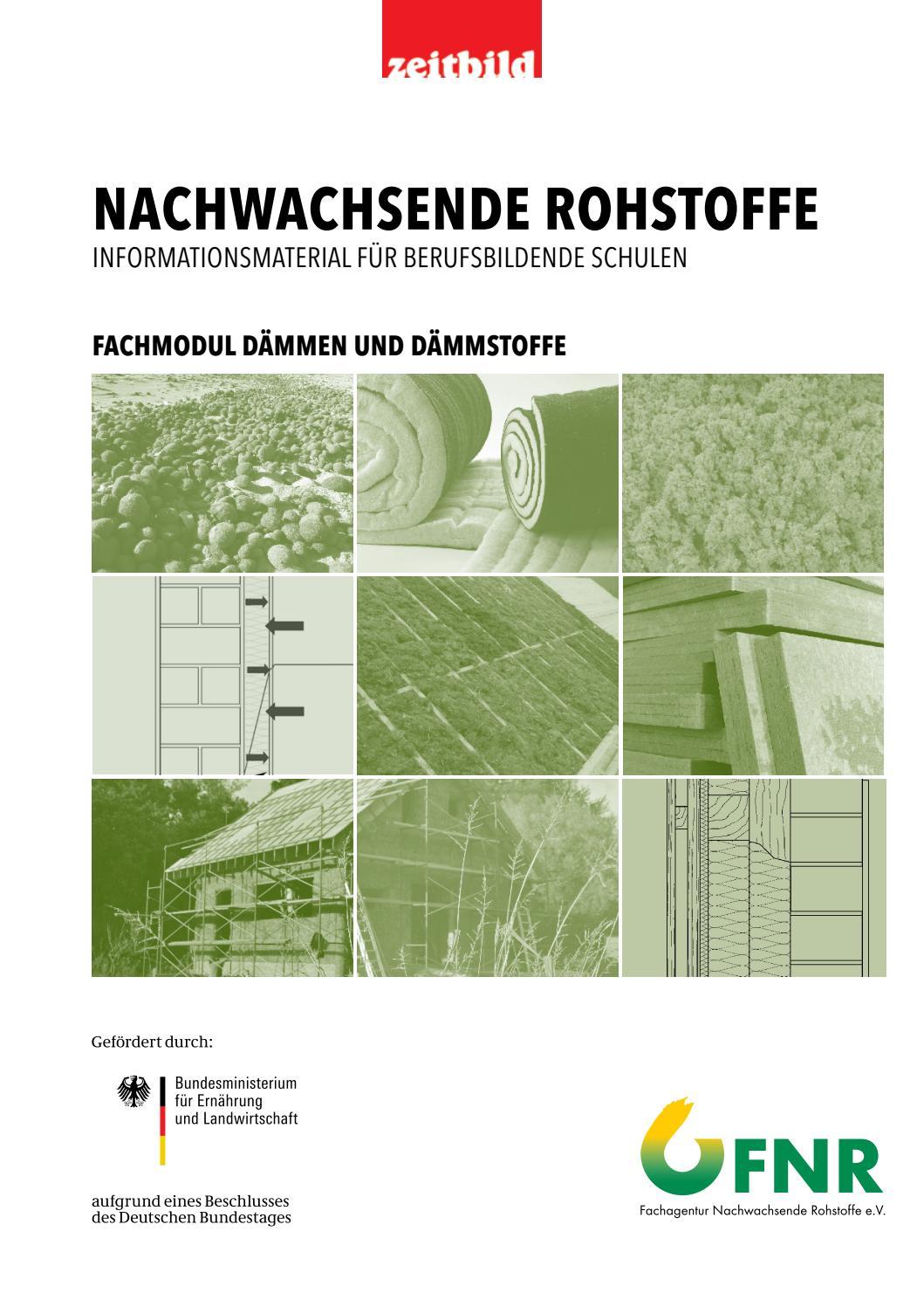 Zeitbild Fachmodul Nawaro Dämmen By Zeitbild Verlag - Issuu