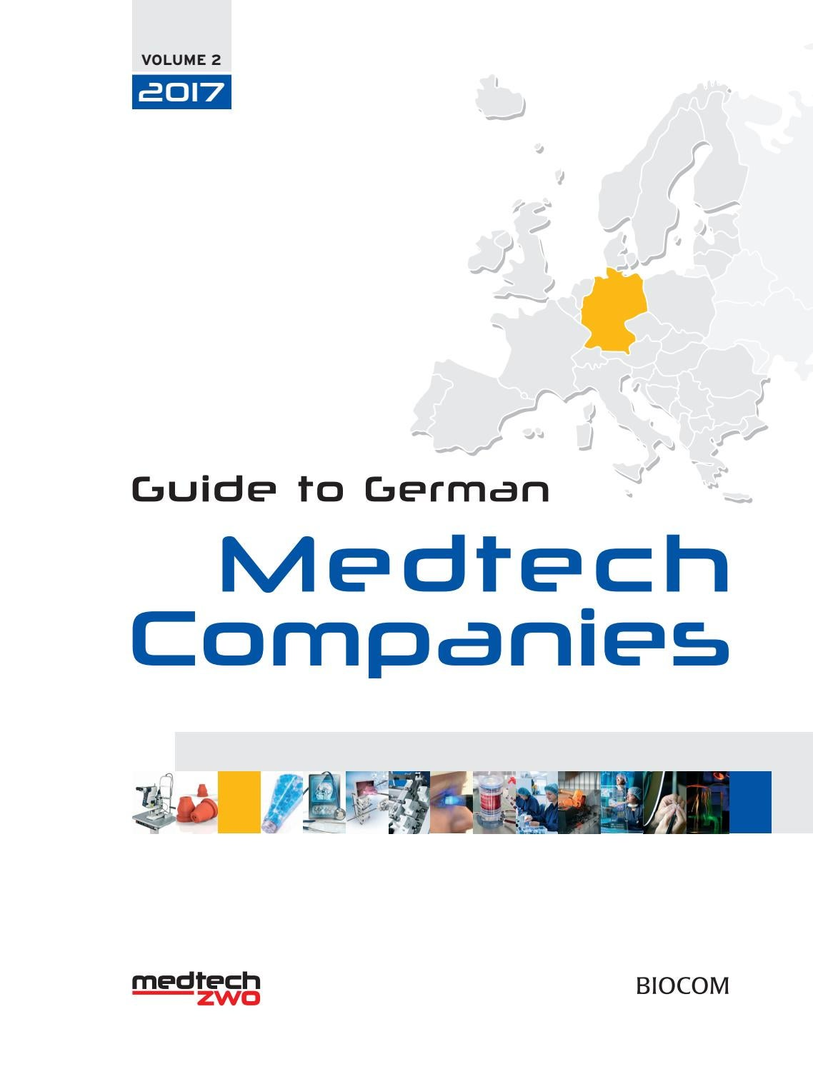guide to german medtech companies 2017