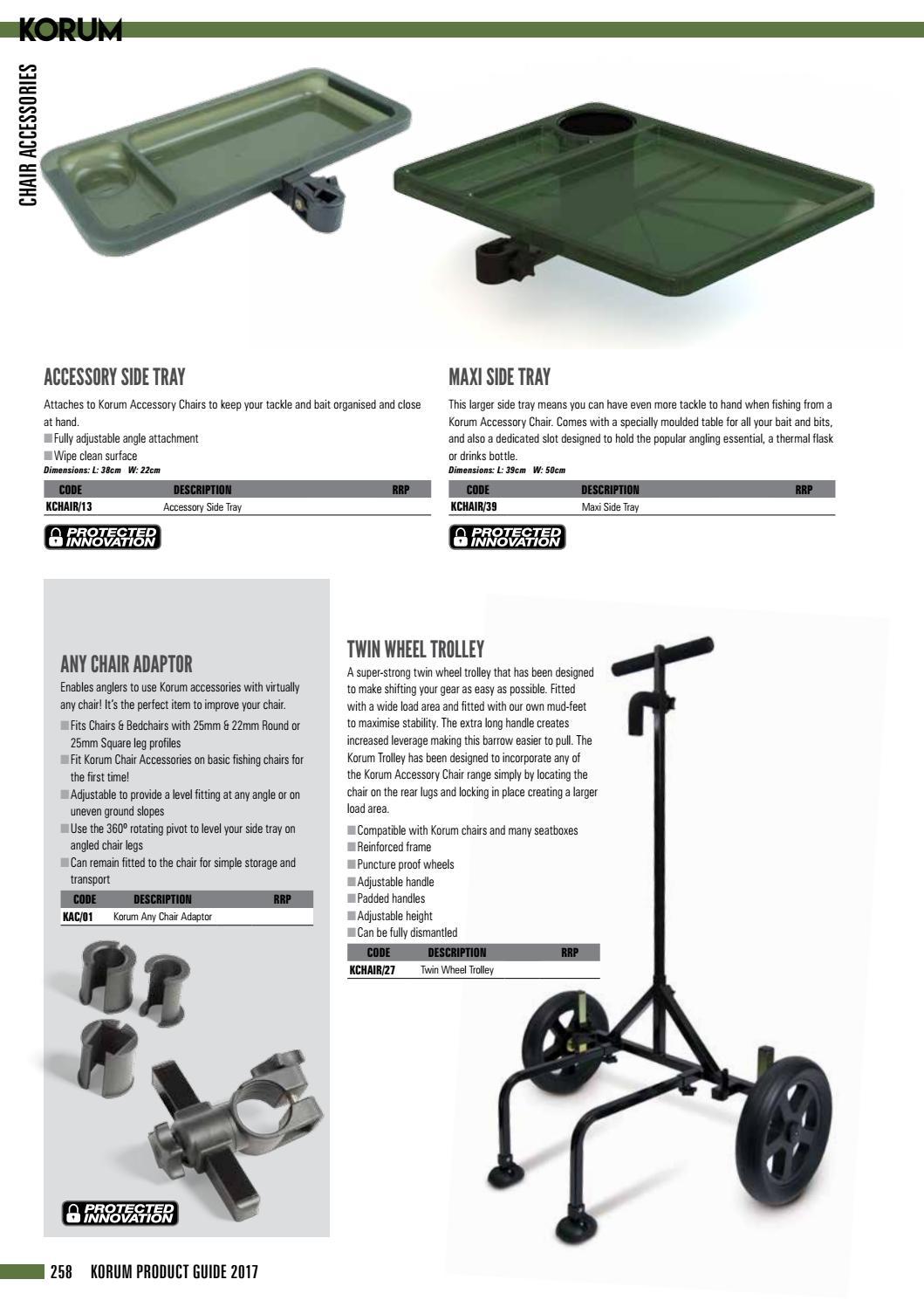 fishing chair hand wheel korum kit consumer guide 2017 english by uk issuu