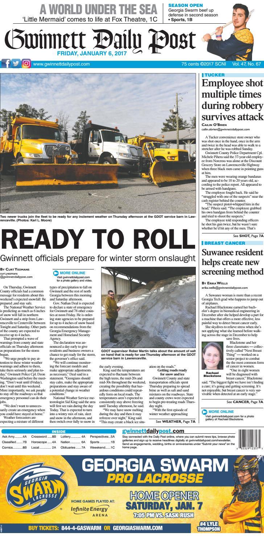 January 7 2017 — Gwinnett Daily Post By Gwinnett Daily Post Issuu
