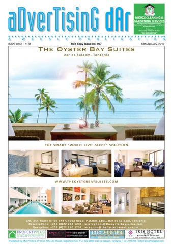 Advertising Dar Issue Nº 907 13th January 2017 By