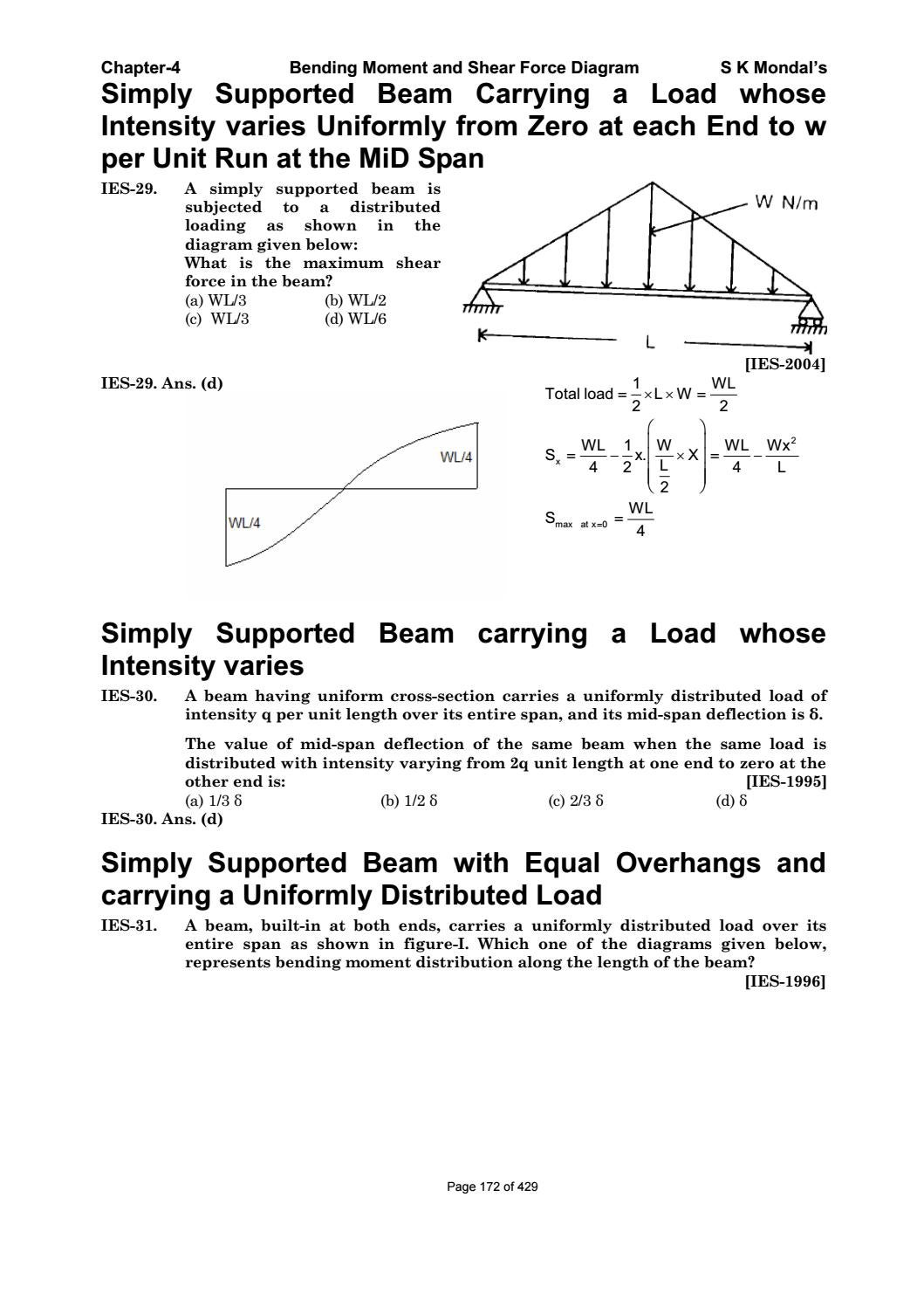 shear and moment diagrams distributed load two way light switch wiring diagram australia strength of materials by s k mondal pdf dharmaraj issuu
