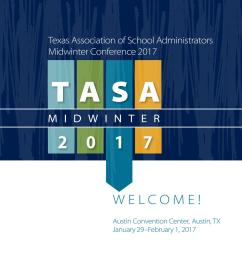 2017 midwinter conference program by texas association of school administrators issuu [ 1156 x 1496 Pixel ]