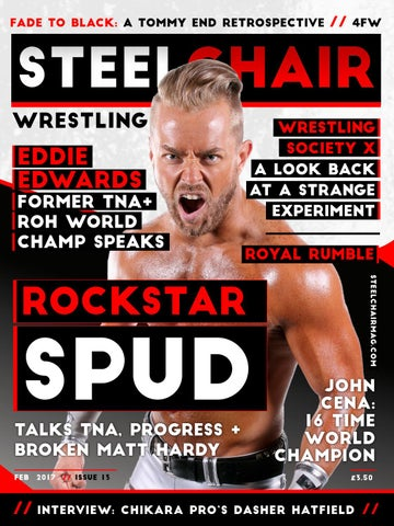 steel chair in wrestling knoll office steelchair magazine 13 by issuu fade to black a tommy end retrospective