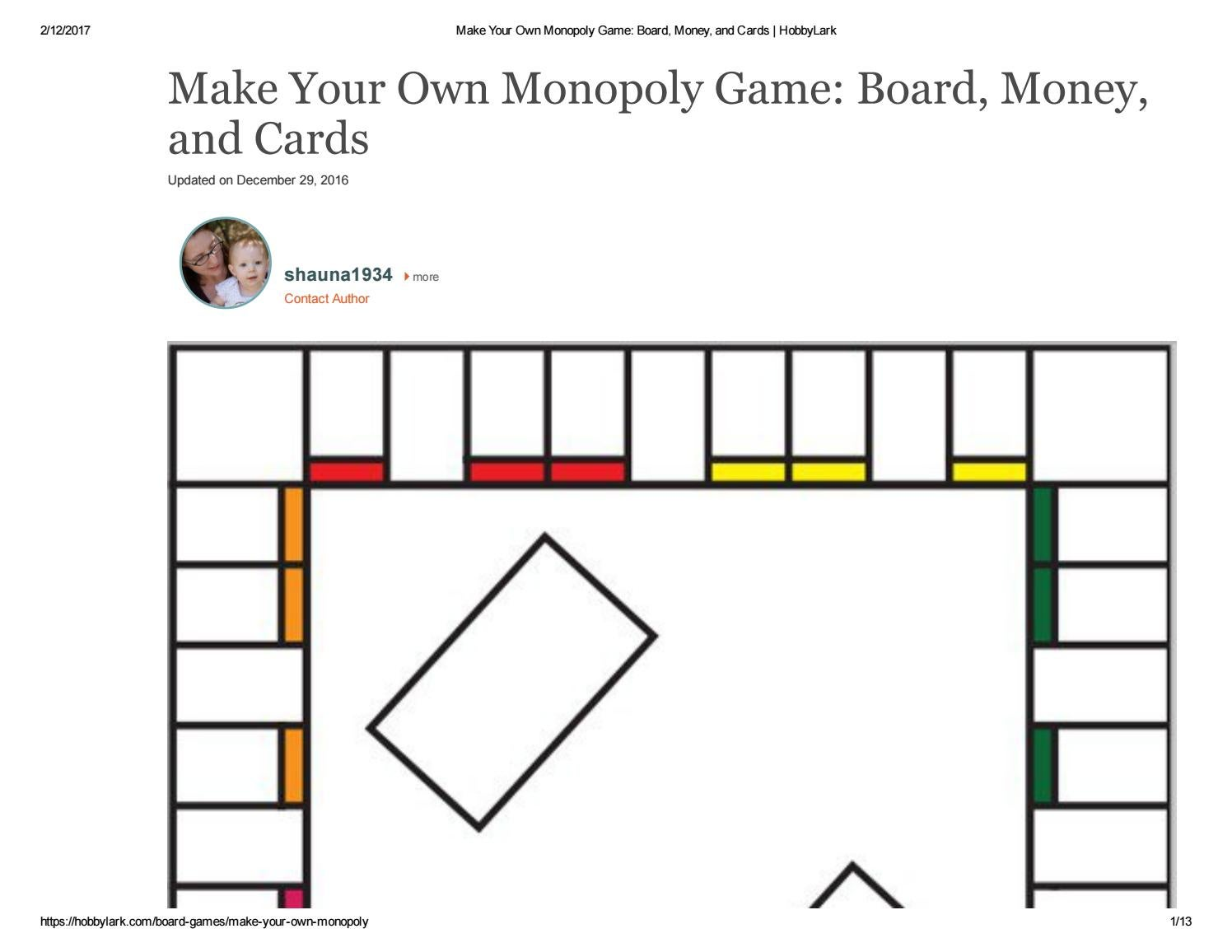 hight resolution of diagram of monopoly board