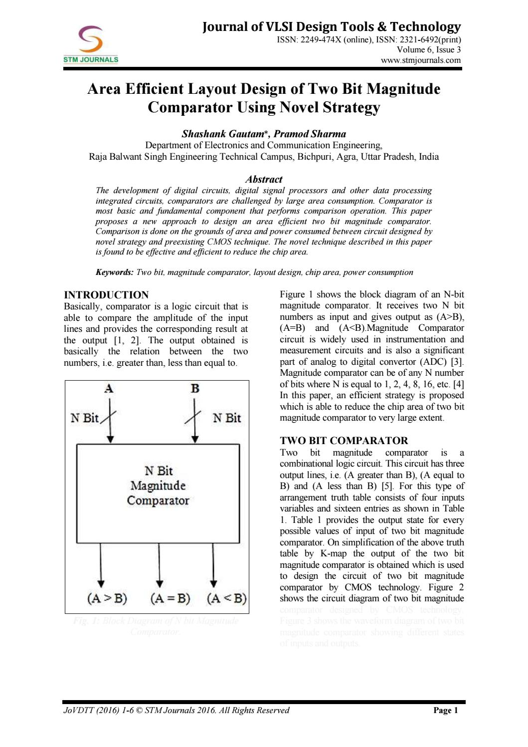 hight resolution of journal of vlsi design tools technology vol 6 issue 3 by stm journals issuu